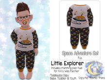 {SMK} Space Adventure Pajamas | Little Explorer