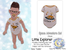 {SMK} Space Adventure Onesie   Little Explorer