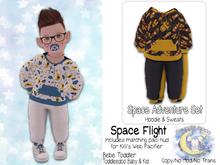{SMK} Space Adventure Hoodie Set | Space Flight