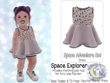 {SMK} Space Adventure Dress | Space Explorer
