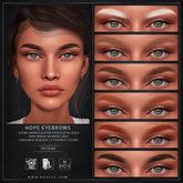 Nuve. Hope tintable eyebrows - Lelutka Evo X