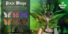 .{PSYCHO:Byts}. Pixie Bento Wings - DEMO