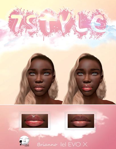 7Style - Natural Lips (LeLUTKA Evolution X)