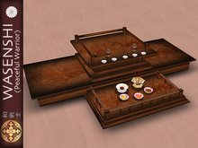 Wasenshi Temple Offering set (buddhist) Deluxe version