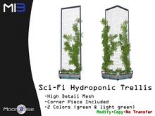 [MB3] Sci-Fi Hydroponic Trellis