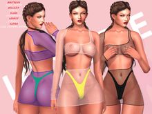 [LC] Wendy Fishnet Dress - NEW! 2021