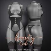 *Beauty Code* - Lingerie Clary - Black