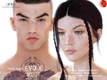 -[CL]- lel EVO X Face Scars # 001 (UNISEX)