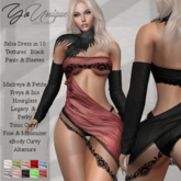YoUnique Couture Salsa Dress with Sleeves and Panties - Hot!