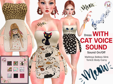 Melis-Dress with cat voice sound FATPACK