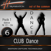 PROMO - MyANIMATION NEW * Pack 1 - CLUB Dances - SUPER REALISTIC Motion Capture Animations - Watch VIDEO