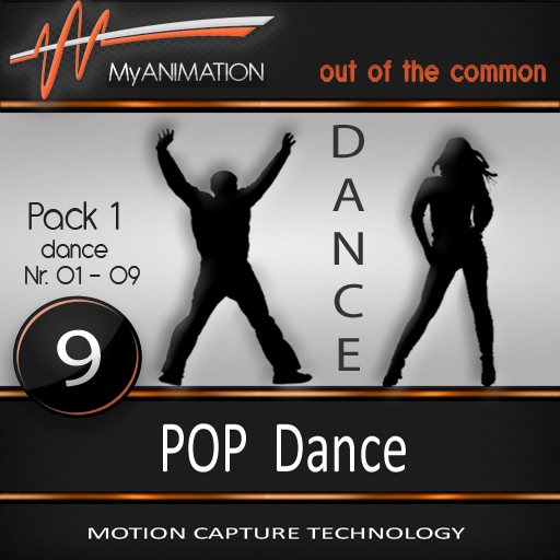 MyANIMATION * NEW * Pack 1 - POP Dances - SUPER REALISTIC Motion Capture Animations - Watch VIDEO