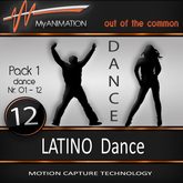 MyANIMATION NEW - Pack 1 - LATINO Dances - SUPER REALISTIC Motion Capture Animations - Watch VIDEO
