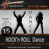 MyANIMATION * NEW * Pack 1 - ROCK'n ROLL Dances - SUPER REALISTIC Motion Capture Animations - Watch VIDEO