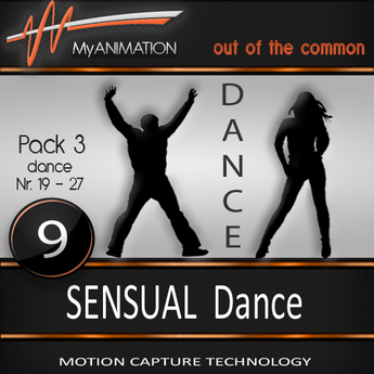 MyANIMATION * NEW * Pack 3 - SENSUAL Dances - SUPER REALISTIC Motion Capture Animations - Watch VIDEO