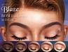 Sap ~ Blaze Eyebrows [Lelutka EvoX] BoM
