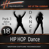 MyANIMATION * NEW * Pack 3 - HIP HOP Dances - SUPER REALISTIC Motion Capture Animations - Watch VIDEO