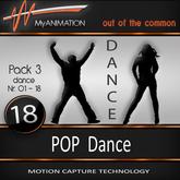 MyANIMATION * NEW * Pack 3 - POP Dances - SUPER REALISTIC Motion Capture Animations - Watch VIDEO