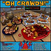 [LJ] Oh Crawdy! - Cajun Restaurant - Full Set