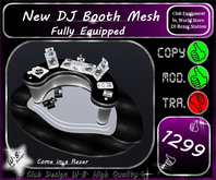 * DJ Booth * Mesh * Fully Equipped *