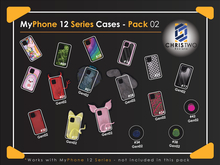 MyPhone 12 Series Cases Pack 02 - [Chris Two Designs]