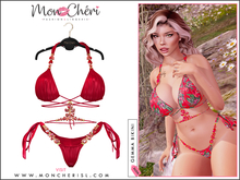 *Mon Cheri* Gemma Bikini - Red