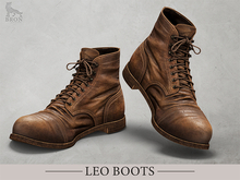 BRON - Leo Boots - Light Brown