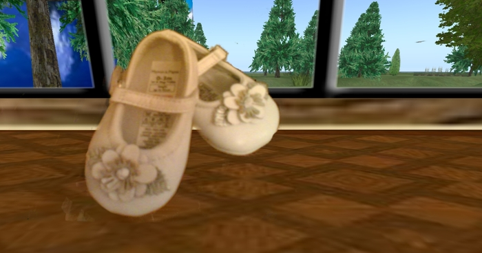 baby shoes decoration