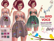 Melis-Bird sounds Dress PACK
