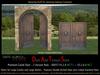 Premium Medieval Grand Entrance Double Door Set, Double Arched Castle Door, Palace Door, Fortress Door  D0057