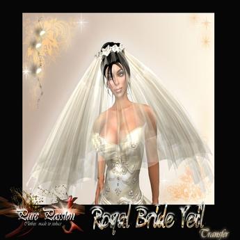 Royal bride veil (boxed)