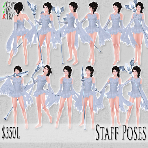 [ImpEle] Staff Poses