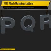 [FYI] Hanging Letter Font