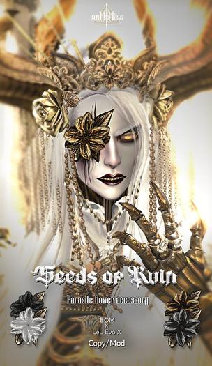 /VaeV\ 'Seeds of Ruin' Parasite Flower Accessory
