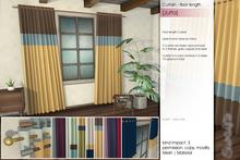 Sway's [Jutta] Curtain floor length