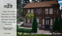 W&Co. Complete Garden for LH Albus/Alpenrose (Add Me)