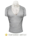 Basic V-Neck (Light Gray)