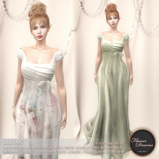 .:FlowerDreams:.Lilyan Gown Demo