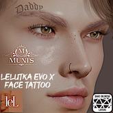 [Muni's] Daddy Tattoo (Lelutka EvoX BOM)