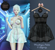 DEAD DOLL - Plastique Dress - Black