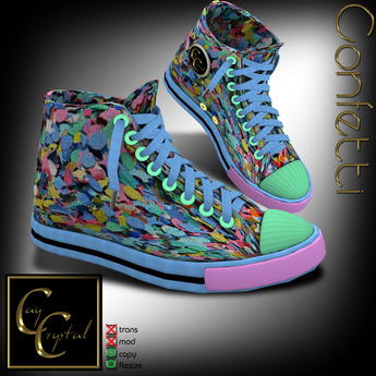 CC Design - Sneakers Confetti