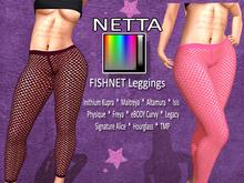 XTC Netta Fishnet Leggings w/HUD box