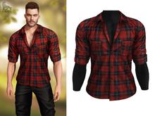 BRON - Axel Shirt - Red Tartan