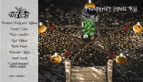 Dollarbie!!! W&Co. Prosperity Spell Kit (Boxed)
