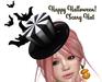 [ FULL PERM ] Happy Halloween Scary Hat
