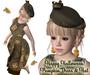 Happy Halloween - Pumpkin Dress & Hat