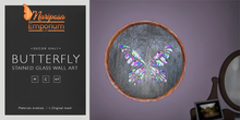 Mariposa Emporium -  Butterfly Stained Glass Wall Art