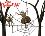 [ FULL PERM ] Halloween Spider Web with Animation