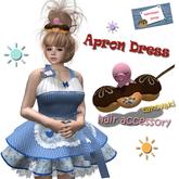 [ WAITRESS ] Apron Dress