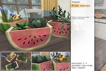 Sway's [Fruity] Flowerpot . Watermelon